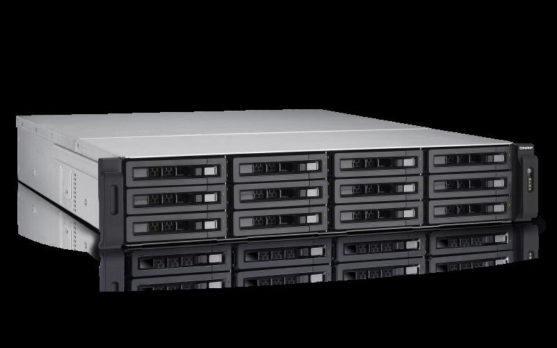 TVS-EC1280U-SAS-RP R2 Qnap - Storage SAS 12 baias Rackmount