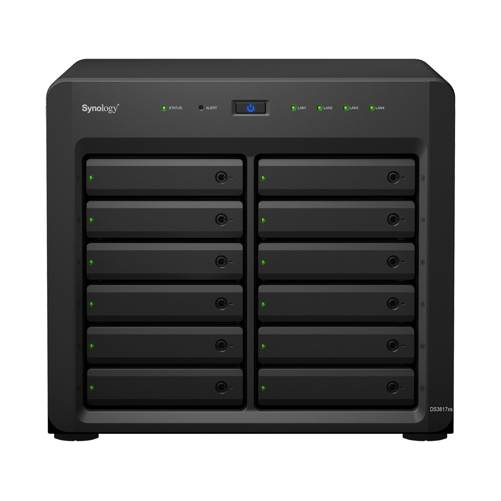 Synology DS3617xs Storage NAS 120 TB