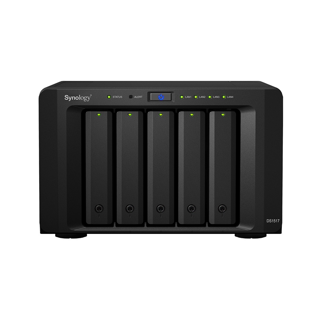 DS1517 Synology DiskStation, NAS Server até 50TB SATA III