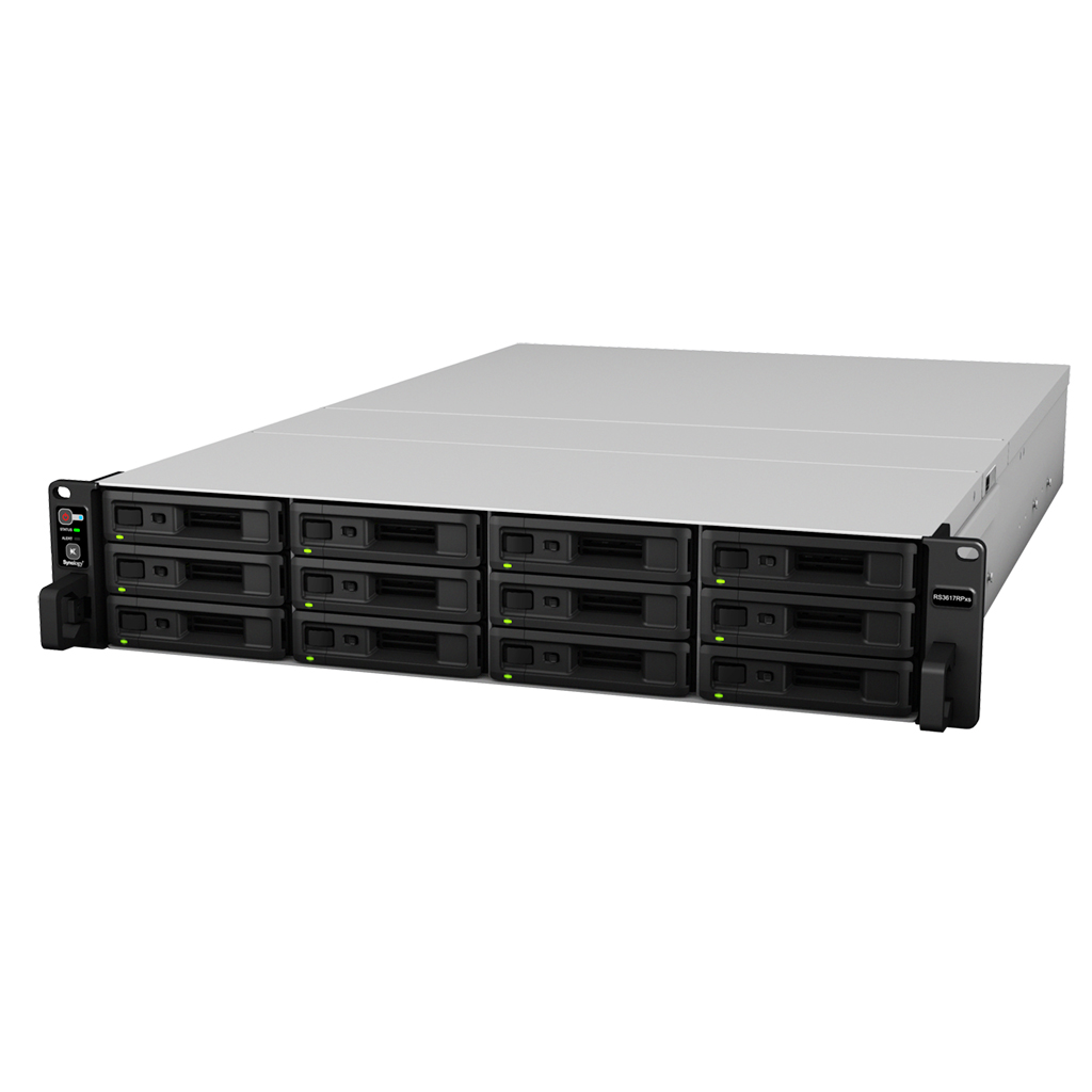 Synology RS3617RPxs NAS Storage 120TB