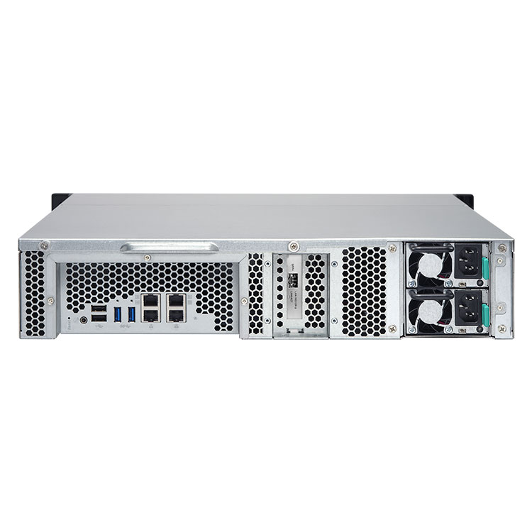 TS-1263U-RP Qnap - Storage Rack 12 hard disks até 60TB