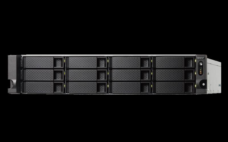 Qnap TS-1263XU-RP - Storage NAS 12 baias Rackmount