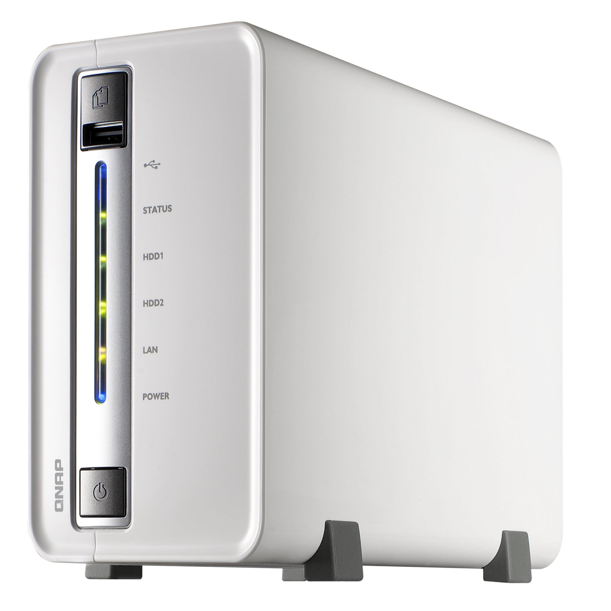 Storage para 2 Discos NAS TS-212 Qnap