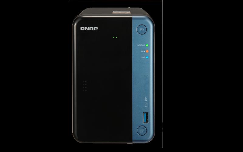 Qnap TS-253Be - NAS doméstico 2 baias hot-swappable até 24TB