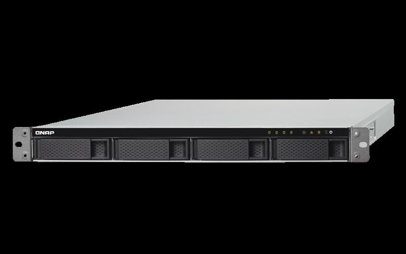 Qnap TS-432XU-RP - Servidor de backup 4 baias hot-swappable rackmount