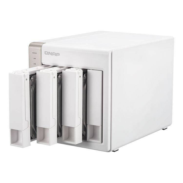 TS-451 Qnap, NAS 4 discos rígidos e Media Center HDMI