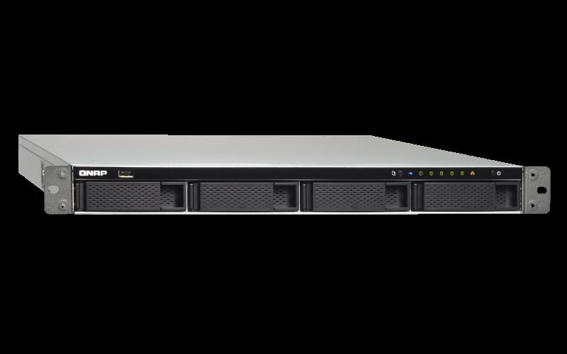 Qnap TS-463XU NAS 4 baias hot-swappable até 48TB e uma porta 10GbE