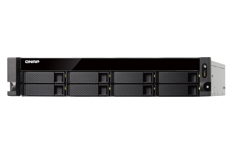 Qnap TS-832XU-RP - Servidor NAS 8 baias hot-swappable com fonte redundante