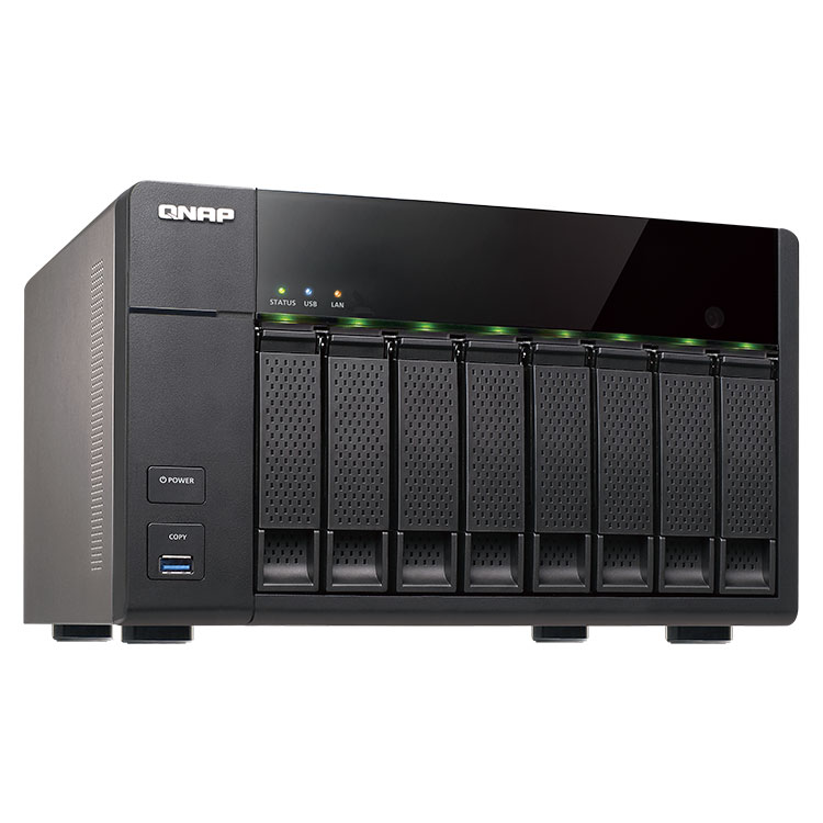 TS-851 - STORAGE NAS 8 DISCOS TS-851 - TS-851 QNAP