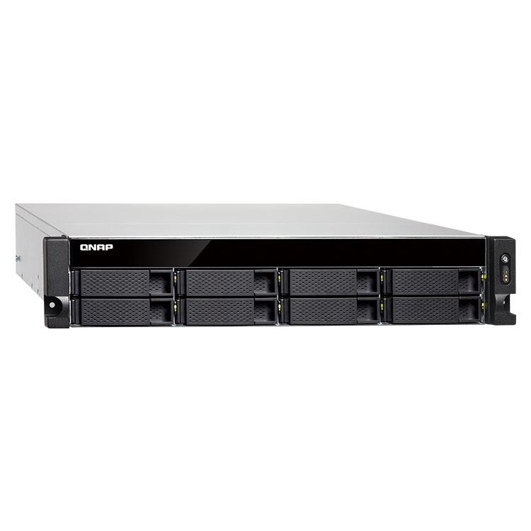 TS-863U Qnap - 8 Bay Storage Rack até 64TB