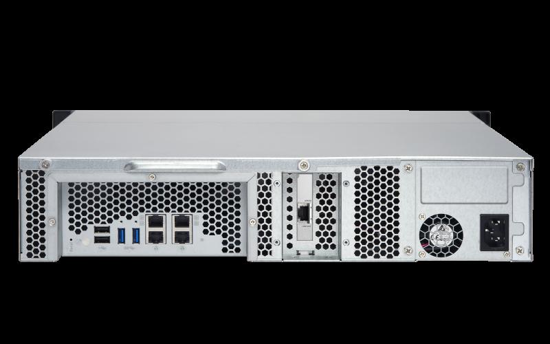 Qnap TS-863XU - Servidor NAS 8 baias até 96TB e porta de rede 10GbE
