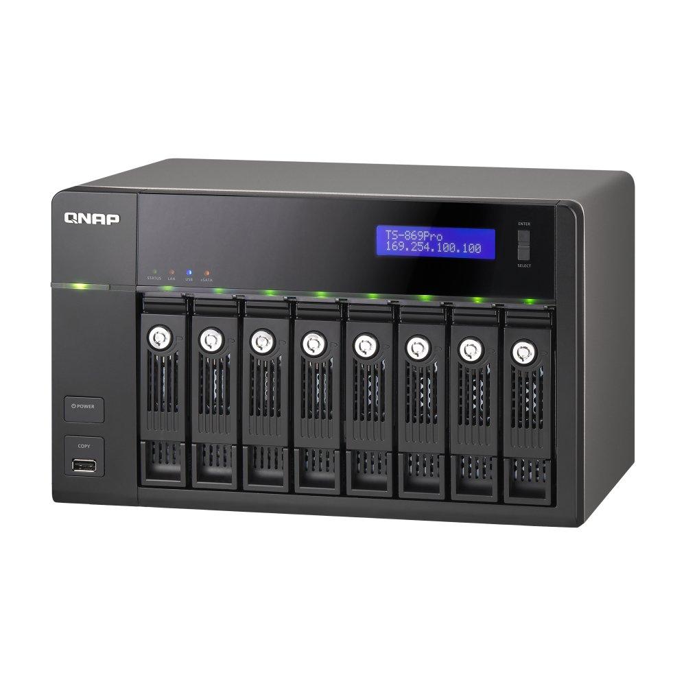 Turbo NAS Qnap, Storage com 8 Hard Disks para Pequenas Empresas