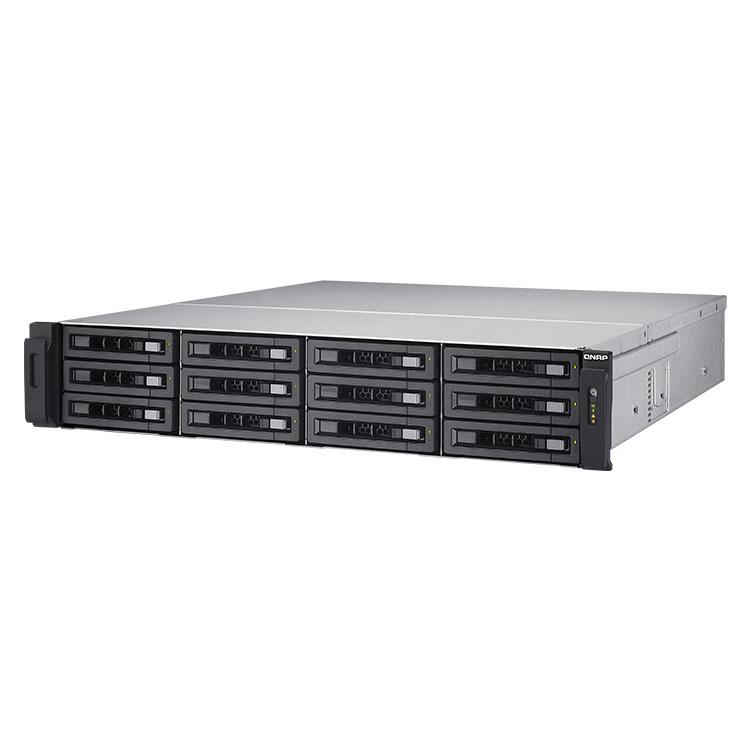 TS-EC1280U-RP Qnap - Storage 12 Baias p/ discos SATA até 120TB