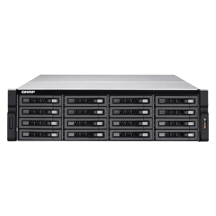 TS-EC1680U-RP Qnap - NAS e IP-SAN 16 baias para hard Disks SATA