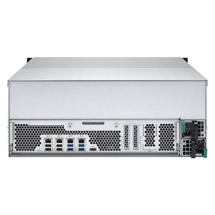 TS-EC2480U-RP Qnap - 24 Bay Storage NAS e IP-SAN para discos SATA