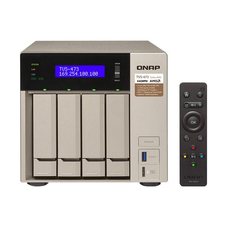TVS-473 Qnap, storage nearline com Tiering  até 40TB