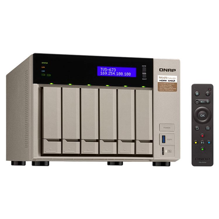 Servidor de backup corporativo TVS-673 Qnap