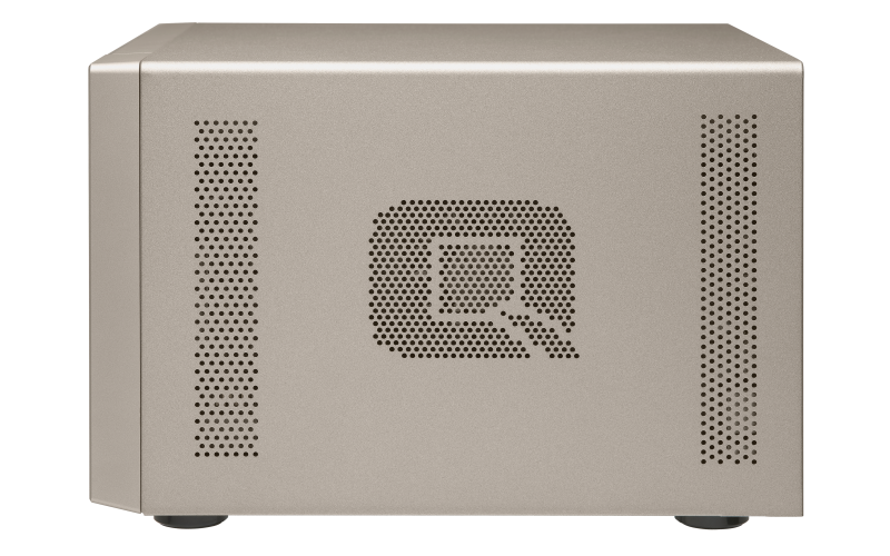 Qnap TVS-873e servidor de backup 8 baias hot-swappable