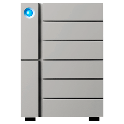 LaCie 6big 60TB Thunderbolt 3