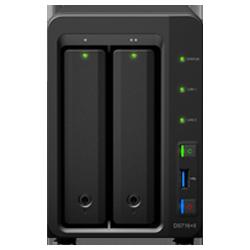 Synology DS716+II Storage NAS, 20TB de capacidade