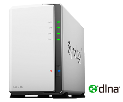 DS216Se - Storage NAS 2 baias Synology