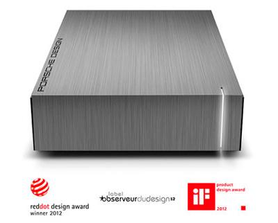 HD Externo LaCie 9000384 4TB, Design Porsche e funcionalidade LaCie