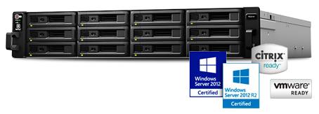 Storage RS2416RP+ RackStation, alto desempenho para grandes volumes de dados