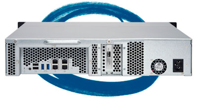 8 Bay storage rack TS-863U - Características
