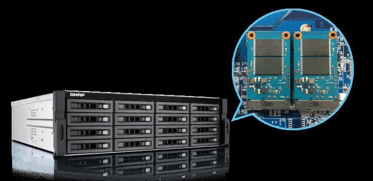 Aceleração do sistema com SSD cache