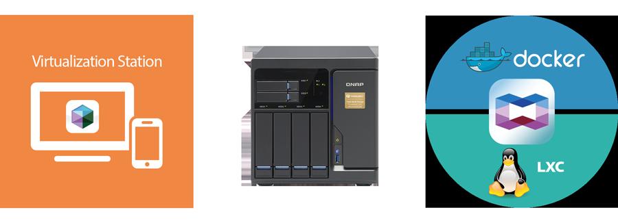 Hospedagem de máquinas virtuais e aplicativos container
