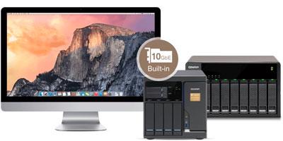 Alta acessibilidade com seu Mac e uma expansão JBOD
