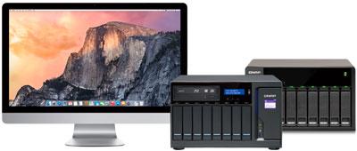 Um NAS com alta acessibilidade (Mac + JBOD)