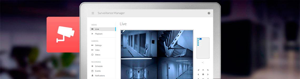 Aplicativos de Vigilância Seagate NAS STDF100