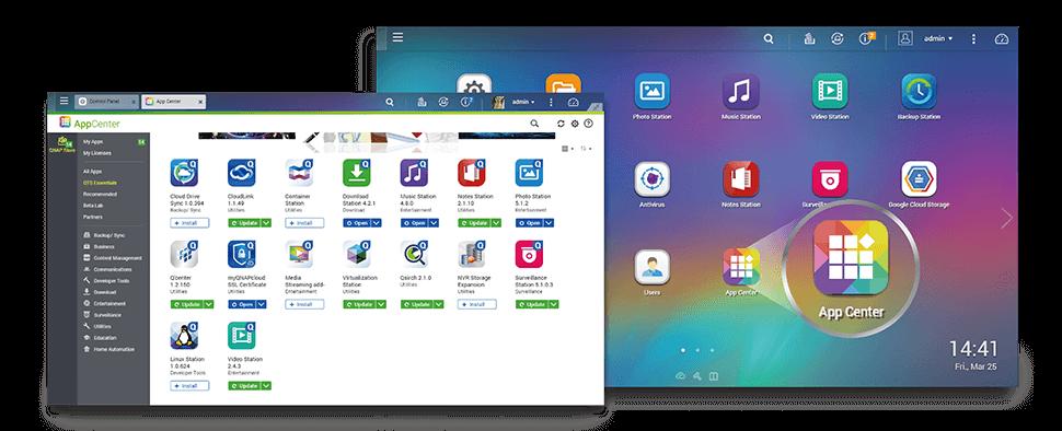App central, todo tipo de aplicativo para o storage Qnap