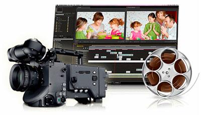 Armazenamento de vídeos HD e 4K