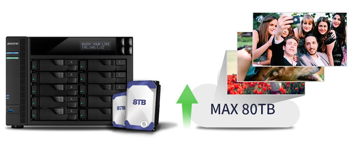 Armazenamento e memória RAM para diferentes necessidades