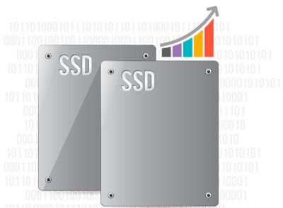 Armazenamento em cache SSD e tecnologia Qtier