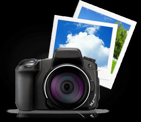 Fotos organizadas e com compartilhamento rápido