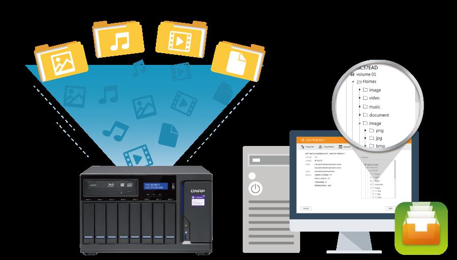 Arquivos organizados automaticamente com o Qfiling