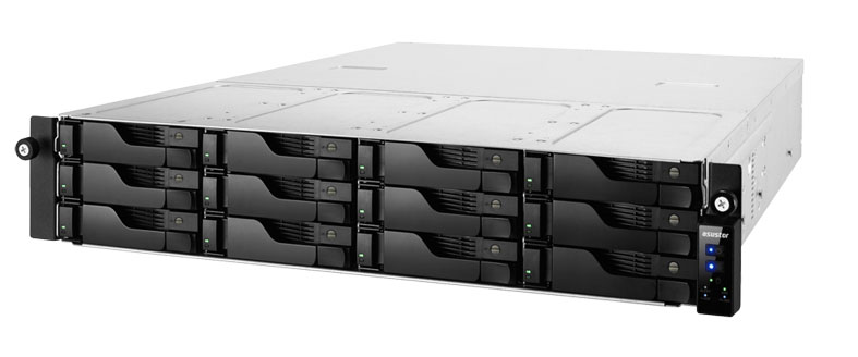 AS6212RD Asustor Storage NAS para até 120TB com alta performance