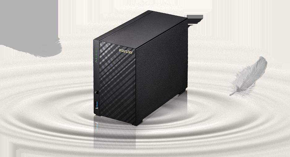 Asustor AS1002T, tecnologia e design em Storage NAS