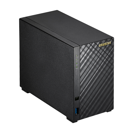 Asustor AS3202T, um storage NAS 16TB para discos SATA