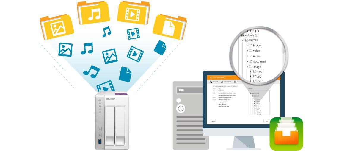 Automatização de organização de arquivos