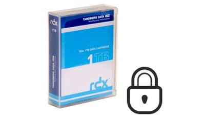 Cartucho RDX 1TB - Mais confiável que unidades de fita