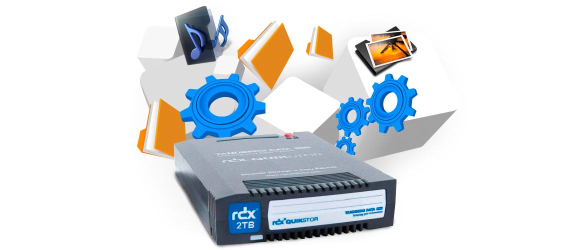 Cartucho RDX - Sistema de backup