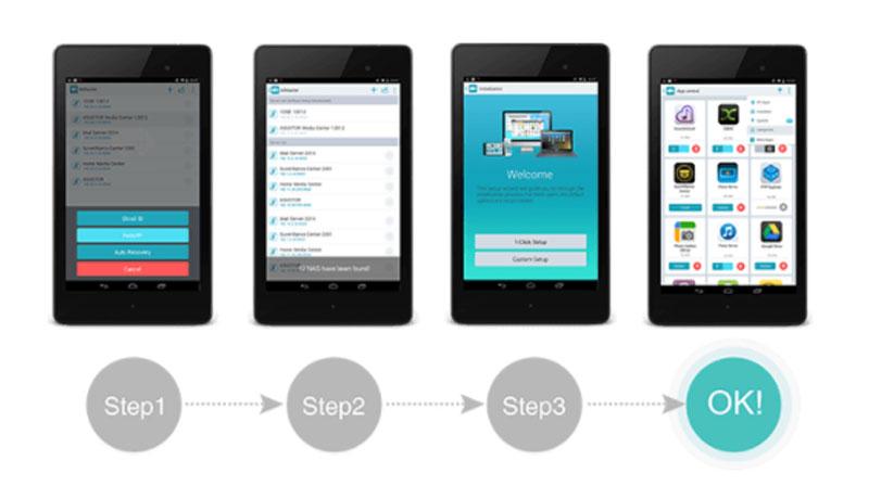 Central de aplicativos para personalização de storage