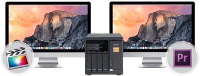 Colaboração Thunderbolt (Storage + Mac + vídeo)