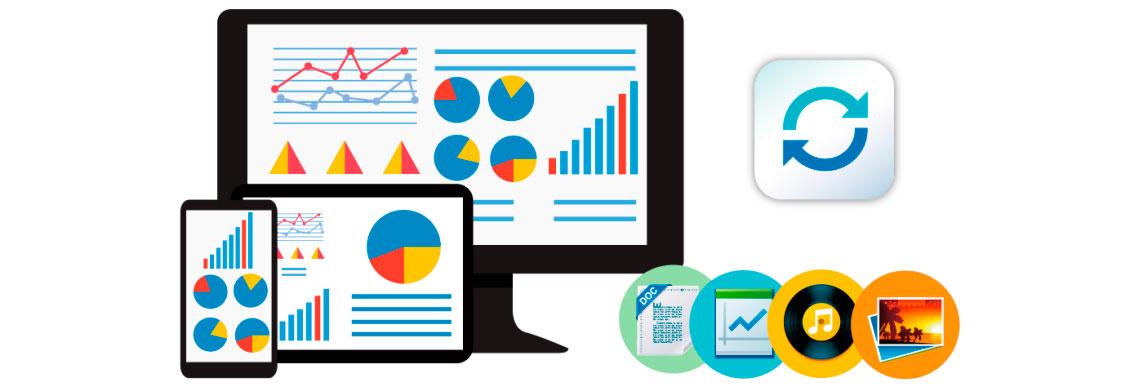 Compartilhamento de arquivos multi-plataforma, armazenamento de dados centralizado