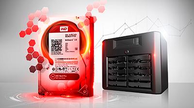 Compatibilidade total com NAS Western Digital, Qnap, Synology e Seagate