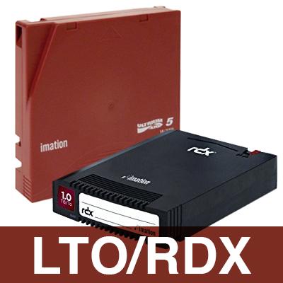 Compatível com LTO e RDX